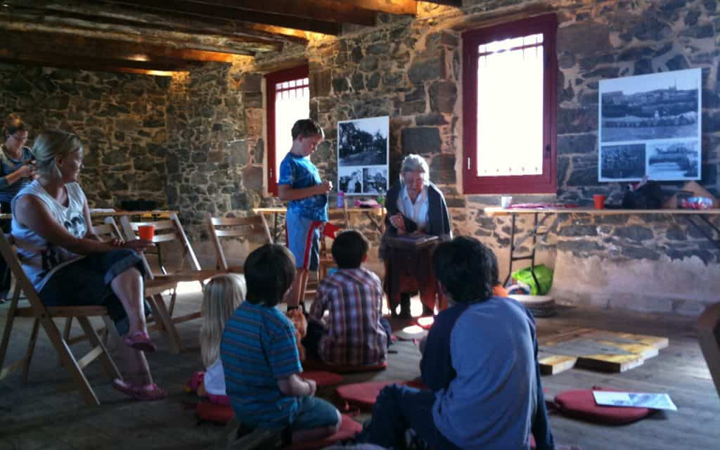 Story Telling at The Bothy