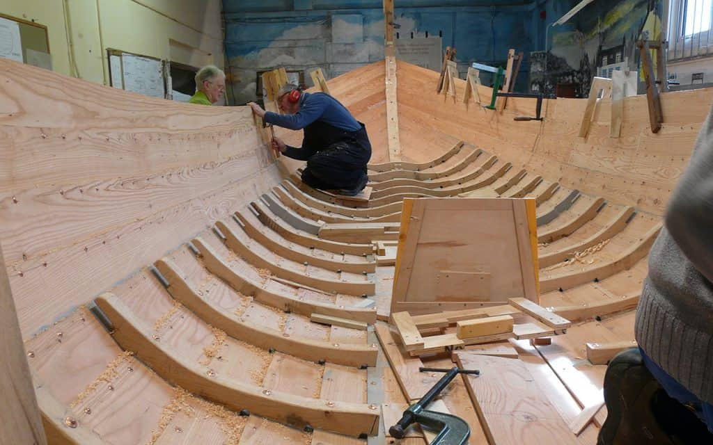 Scottish culture and traditions - Boat building