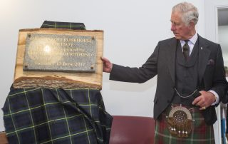 The Duke of Rothesay Opens The Sail Loft Bunkhouse