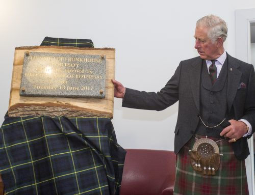 Duke of Rothesay officially opens The Sail Loft Bunkhouse